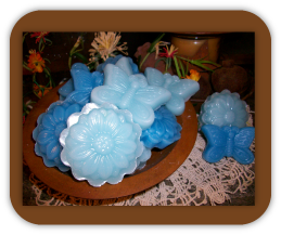 Beautiful Floral and Butterly Wax Tarts