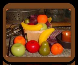 Fruit Shaped Wax Tarts
