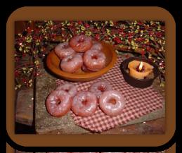 Glazed Donut Wax Tarts
