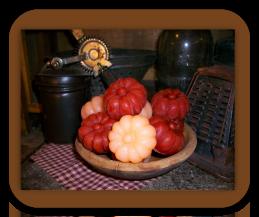 Pumpkin Wax Tarts