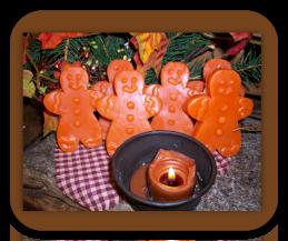 Gingermen Wax Tarts