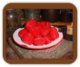 Fresh Strawberry Wax Tarts