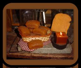 Little Bread Loaves Wax Tarts