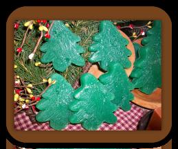 Christmas Tree Wax Tarts