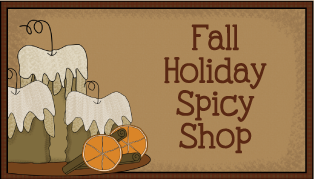 Fall Holiday Spicy Shop