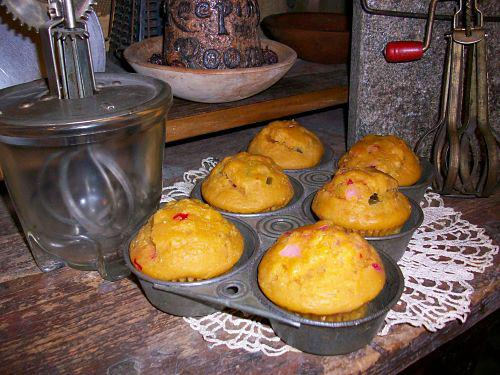 Chunky Muffin Cuttable-chunky muffins